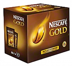 Кофе растворимый (НЕСКАФЕ) Nescafe Gold (30х2г)