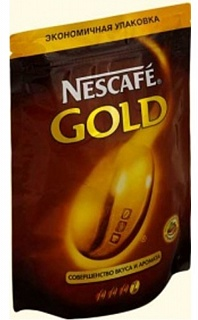 Кофе растворимый (НЕСКАФЕ) Nescafe Gold (мягкая упаковка) 500 гр